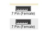 "Tripp Lite 39"" SATA Cable (Tripp Lite: P940-39I)"