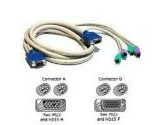 Cables Unlimited 6ft KVM 3-In-1 Cable Kit 2-HD15 4-PS2 M/f for any (Cables to Go: 21956)