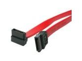 """StarTech 18"""" SATA to Right Angle SATA Serial ATA Cable (StarTech.com: SATA18RA1)"""