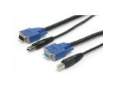 StarTech 15 ft. USB+VGA 2-in-1 KVM Switch Cable (StarTech.com: SVUSB2N1_15)