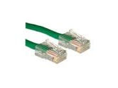 Cables To Go 50ft 10/100BT CAT5e RJ45 Patch Cable Green No Boots (Cables to Go: 24394)