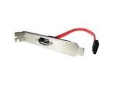 StarTech 1 ft. SATA Data Internal to External Slot Plate Model SATAPLATE1 (StarTech.com: SATAPLATE1)