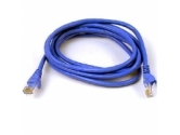 BELKIN CABLES  Patch cable - RJ-45 (M) 3 ft UTP ( CAT 6 ) blue (Belkin Components: A3L980-03-BLU-S)