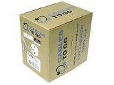 Cables To Go - 500' Roll Cat5e Grey UTP Stranded (Cables to Go: 27358)
