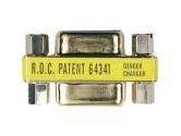 Tripp Lite Compact Gender Changer DB9F/DB9F Gold CONN (Tripp Lite: P150-000)