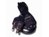 APC (American Power Conversion) 7ft AC Computer Cord Standard UL/CSA APPROVED Black (APC: 0421-7)