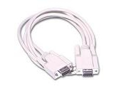 Cables Unlimited Null Modem Cable 15-feet DB-9 F/F (CABLES TO GO: 03046)