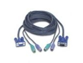 IOGEAR 10 ft. All-In-One Micro-Lite Bonded KVM Cable, PS/2 Model G2L5003P (IOGEAR: G2L5003P)