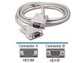 Cables To Go 6ft VGA Monitor Extension HDDB15M/HDDB15F (CABLES TO GO: 02717)
