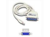 Cables To Go 6ft USB to Parallel Adapter USBA/CENT36M (Cables to Go: 16898)