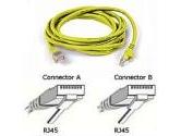 Belkin UTP Cable  RJ-45 /RJ-45 (Belkin Components: A3L791-03-YLW-S)