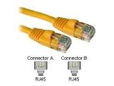Cables To Go 3ft 350MHz CAT5e Patch Cable 4PR Molded Snagless Yellow (Cables to Go: 15221)