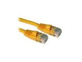 Cables To Go 14ft 350MHz CAT5e Patch Cable 4PR Molded Snagless Yellow (Cables to Go: 15210)