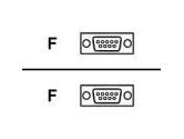 TRIPP LITE  6 ft.  Null Modem Gold Cable (DB9 F/F) (Tripp Lite: P450-006)