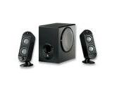 Logitech X-230 2.1 Speaker System Black 32W RMS FDD2 (: 970123-0403)