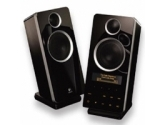 Logitech Z-10 Interactive 2.0 Speaker System Black 30W RMS Graphic LCD Front Multimedia Controls USB (LOGITECH: 970243-0403)