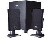 Cyber Acoustics CA 3090 - PC multimedia speaker system (Cyber Acoustics: CA-3090RB)