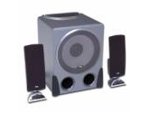 Cyber Acoustics CA3550RB 2.1 Black Speakers (Cyber Acoustics: CA-3550RB)