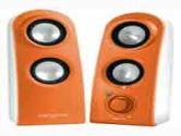 Creative Labs SBS Vivid 80 7 Watt Speaker Orange (Creative Technology: 51MF1525AA009)