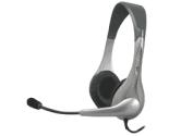 Cyber Acoustics AC-201 Stereo Headset/microphone (Cyber Acoustics: AC-201)