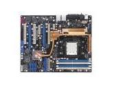 ASUS CROSSHAIR AM2 NVIDIA nForce 590 SLI MCP ATX AMD Motherboard (Asus: CROSSHAIR)
