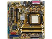 ASUS M2NPV-VM mATX AM2 GE6150-NF430 1PCI-E16 1PCI-E1 2PCI SATA2 Video Sound GBLAN 1394 Motherboard (ASUS: M2NPV-VM)