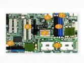 SUPERMICRO X6DVL-EG E7320 2XS604 PCI-E16 2PCI-X 2PCI SATA RAID VIDEO GBLAN SERVER MOTHERBOARD (SUPER MICRO Computer: X6DVL-EG)