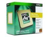 AMD Athlon 64 X2 5000+ Dual Core Processor Socket AM2 Windsor 2.6GHZ 2X512KB 89W 90NM Retail Box (AMD: ADA5000CSBOX)