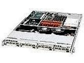SUPERMICRO COMPUTER  1U RM BEIGE CHASSIS 4XSATA BAYS (SUPER MICRO Computer: CSE-813T-500)