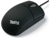IBM 3BTN Travel Wheel Mouse 800 dpi USB Black (Lenovo: 31P7410)