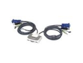 IOGEAR Miniview Micro 2 Port Compact USB KVM Switch W BUILT-IN 6FT Cable And Audio (IOGEAR: GCS632U)