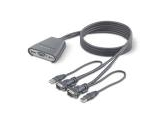 BELKIN F1DK102U Compact KVM Switch with Cables, USB (Belkin Components: F1DK102U)