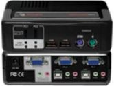 Avocent SwitchView MM1 2-Port PS/2 USB KVM Switch 1.1 Hub with Audio (Avocent: 2SVPUA10-001)
