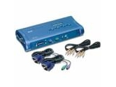 TRENDnet TK-408K 4-Port PS/2 KVM Switch Kit w/Audio (TRENDnet: TK-408K)