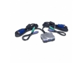 PPA 7020 2 Port All-In-One Mini KVM Switch PS/2 Version - Retail (Specialty Roll Products: 7020)
