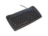 Adesso MINI TRACKBALL USB KEYBOARD BLACK (ADESSO: ACK-5010UB)