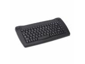 Adesso 88KEY MINI TRACKBALL KEYBOARD WRLS IR PS/2 BLACK (ADESSO: ACK-573PB)