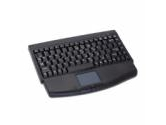 Adesso Black Mini PS/2 Touchpad Keyboard (ADESSO: ACK-540PB)