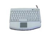 Adesso White Mini USB Touchpad Keyboard (ADESSO: ACK-540UW)