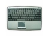 ADESSO AKB-410PB Black Keyboard with built in Touchpad (Adesso: AKB-410PB)