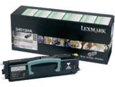 LEXMARK 34015HA HIGH YIELD RETURN PRG TONER CART E330 E332 E340 E342 6K YLD (Lexmark International: 34015HA)