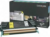 LEXMARK C5340YX Extra High Yield Return Program Toner Cartridge (Lexmark International: C5340YX)