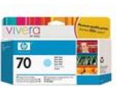 HP 70 Light Cyan Ink Cartridge (Hewlett-Packard: C9390A)