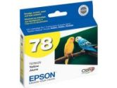 EPSON T078420 Yellow Ink Cartridge For Epson Stylus Photo RX580, R260, R380 (Epson: T078420)