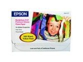 EPSON S041727 4&quot; x 6&quot; 100 Sheets Photo Paper (Epson Corporation: S041727)
