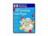 HP 20SHTS Greeting Card Paper w/ 20 ENV- Letter Pre-SCOR 1/4 Fold (HEWLETT-PACKARD: C1812A)