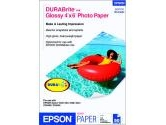 EPSON DURABrite S041734 4&quot; x 6&quot; 50 Sheets Photo Paper (EPSON: S041734)