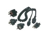 APC (American Power Conversion) American Conversion Notebook Plug Adapter KitC6 plug (APC: INPA3)