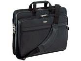 """Targus Black 17"""" Deluxe Leather Notebook Case Model TLE400 (Targus: TLE400)"""