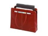 """Targus Red 15"""" Elegant Leather Tote Model TLT008 (Targus: TLT008)"""